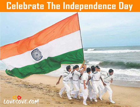 Best Independence Day Quotes, SMS & Images For Facebook, Saare Jahan Se Achha HINDOSTAN Hamara - Happy Independence Day