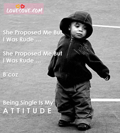 My Attitude Wallpaper 240x320 attitude, being, single, girl, my ...
