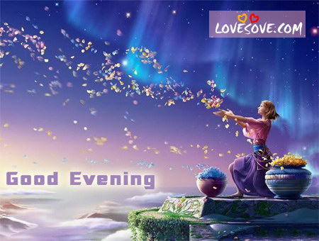 Good Evening Sms Images Good Evening Quotes Wallpapers