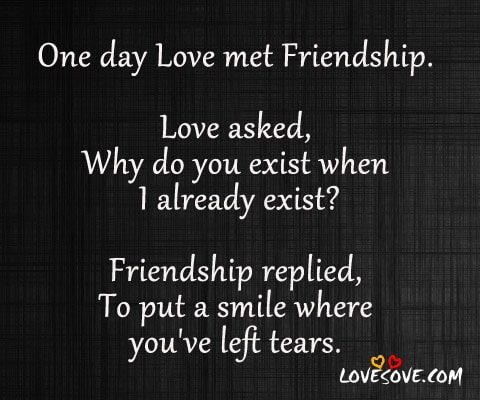 Quotes About Love And Friendship : Quotes About Love And Friendship. QuotesGram