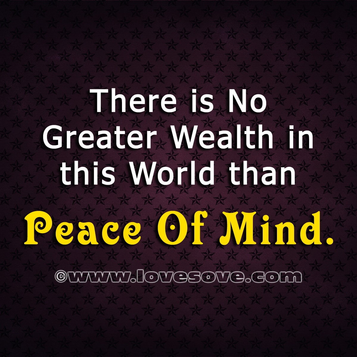 Quotes About Peace Of Mind Peace of mind