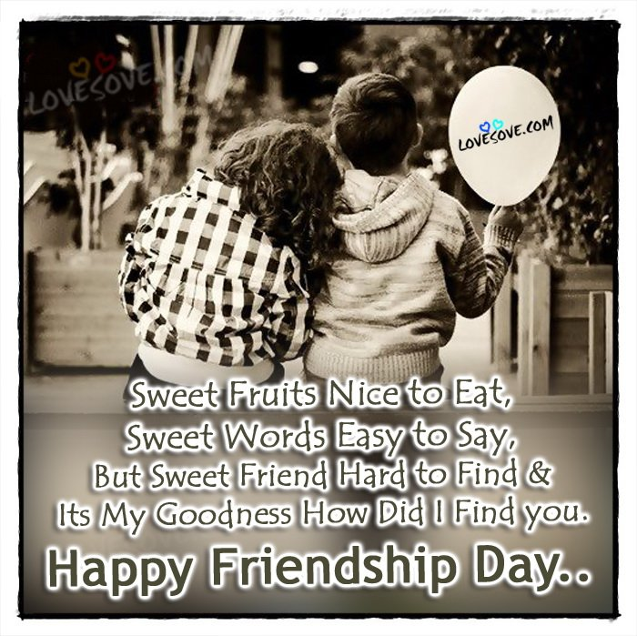Touching Quotes About Friendship Inspiration Heart Touching Friendship Day Quotes  Lovesove