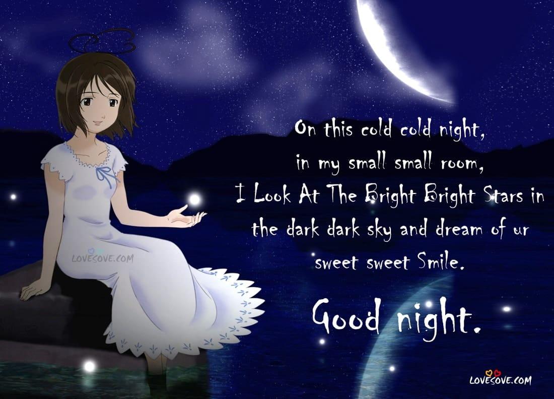 Good Night Greeting Cards Lovesove