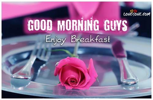 good-morning-enjoy-breakfast-greeting-lovesove