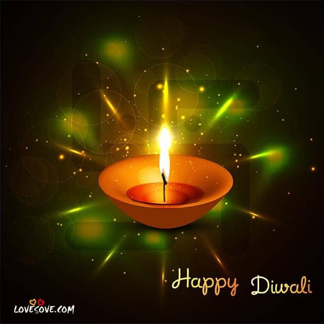 Diwali 2016 Greetings, Deepavali Shayari Images, Deepawali Hindi Quotes glowing-oil-diya-diwali-lovesove