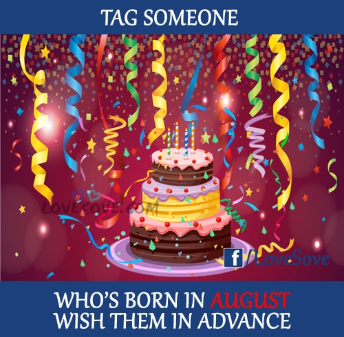 Birthday Image For Who's Born In August, Meme Images