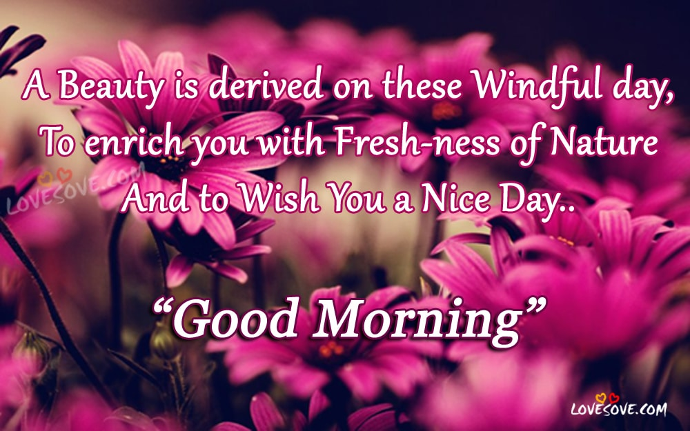 A beauty is derived, Good Morning Wishes, Image For Facebook