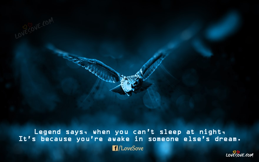 Legend Says – Good night Quotes, Images, Wallpaper, Thoughts