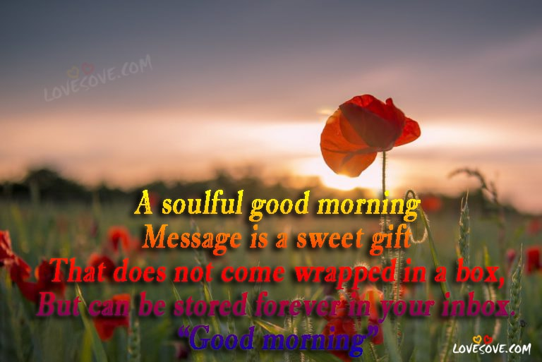 A Soulful Good Morning Best Good Morning Wishes Images