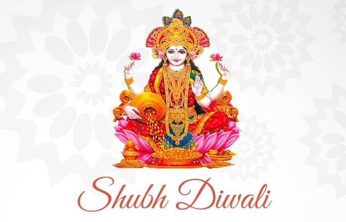 Shubh-Diwali-Image-of-Mata-Lakshmi-Ji