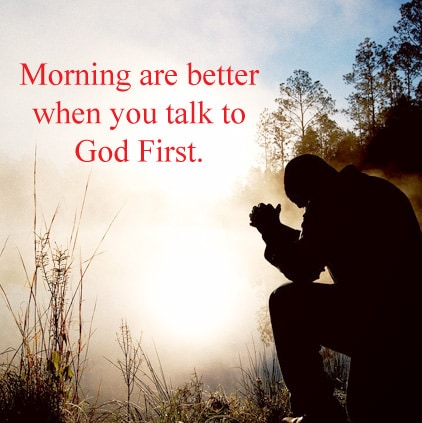 Good Morning God Quotes Sayings Pics Facebook Whatsapp Status