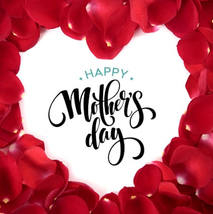 Mother-Day-Display-Photo-with-Red-Heart-LoveSove