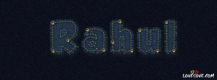 rahul name wallpaper lovesovecom