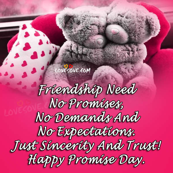 Happy Promise Day 2018 Hindi Status Shayari, Promise Quotes Sms