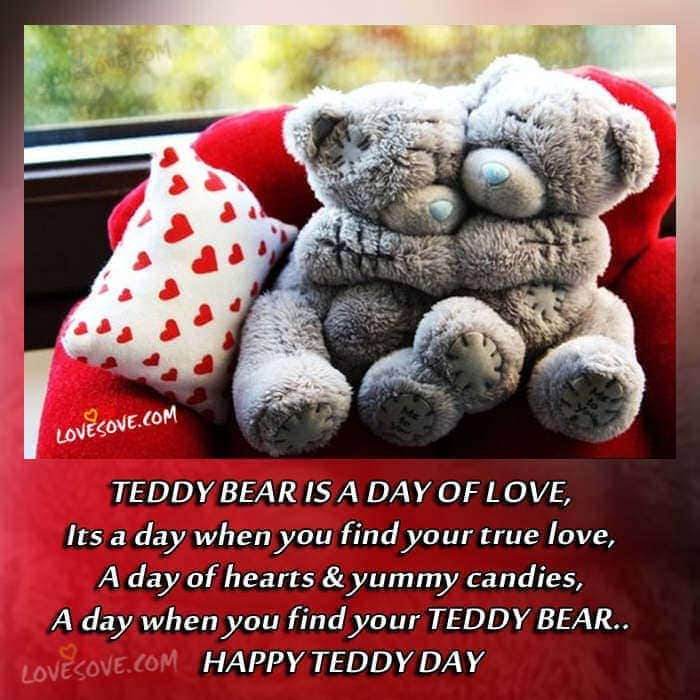 Happy Teddy Day 2018 Status Shayari, Teddy Bear Pics Images, teddy bear images with love quotes, teddy day special status, Happy Teddy Day 2018 Status Shayari, Teddy Bear Pics Images, Teddy bear day shayari images for facebook, Happy teddy day shayari images for whatsapp status, Happy Teddy Day 2017 Status Shayari, Teddy Bear Pics Images teddy-bear-day-greeting