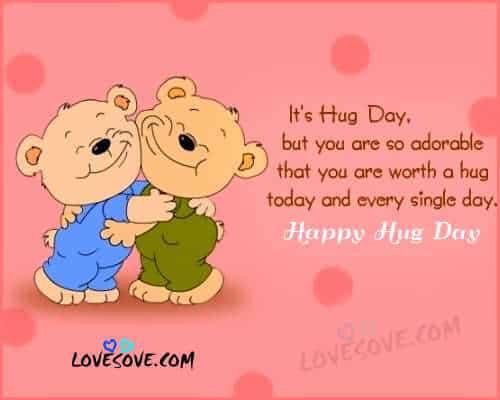 Happy Hug Day 2017 Hindi Status Shayari, Latest Hugs Images hug sms for girlfriend-boyfriend