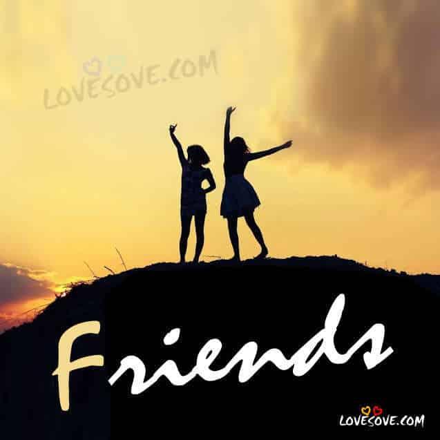 Symbol of a good friend | Dosti Shayari, Friendship Messages