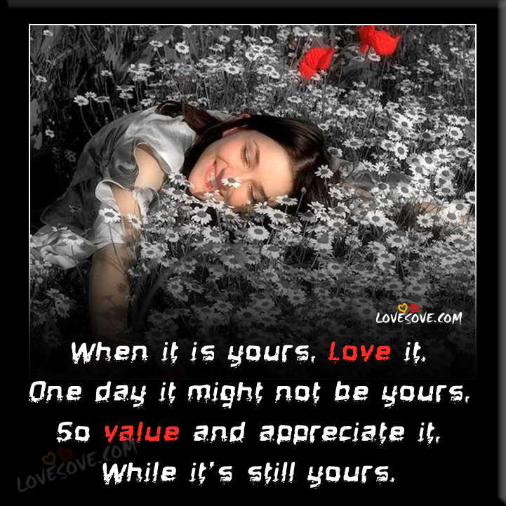 Best Love Wallpapers, Love Shayari Wallpapers, Love Quotes Images When-it-is-yours-love-it-love-wallpaper-lovesove