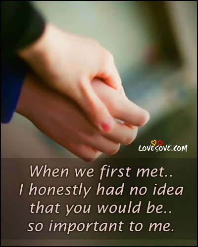 Hand In Hand Love Quotes
