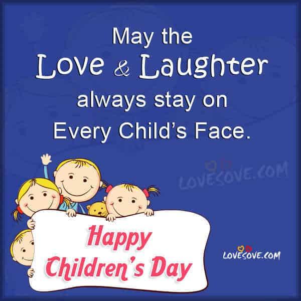 Happy Childrens Day (14th Nov.) | LoveSove.com