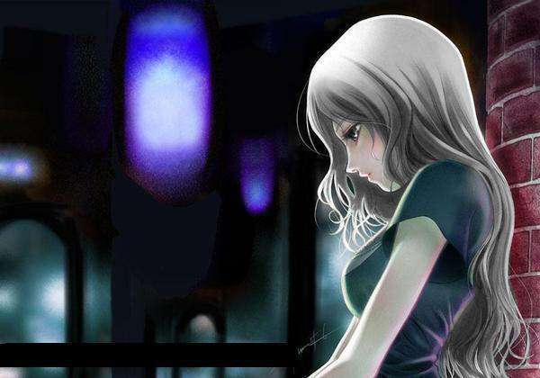 alone-animie-girl-cute-wallpaper-lovesove