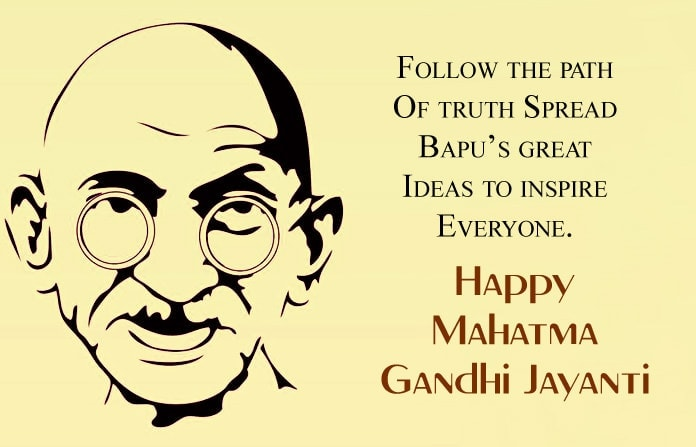 Images for gandhi jayanti messages, Gandhi Jayanti SMS Greetings In English, Gandhi Jayanti Wishes