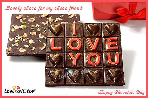 Happy Chocolate Day 2017 Status Shayari, Chocolate Images Hindi Wishes