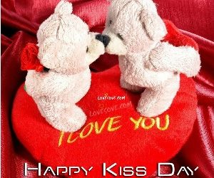 Heart Touching Kiss Day Sms in Hindi