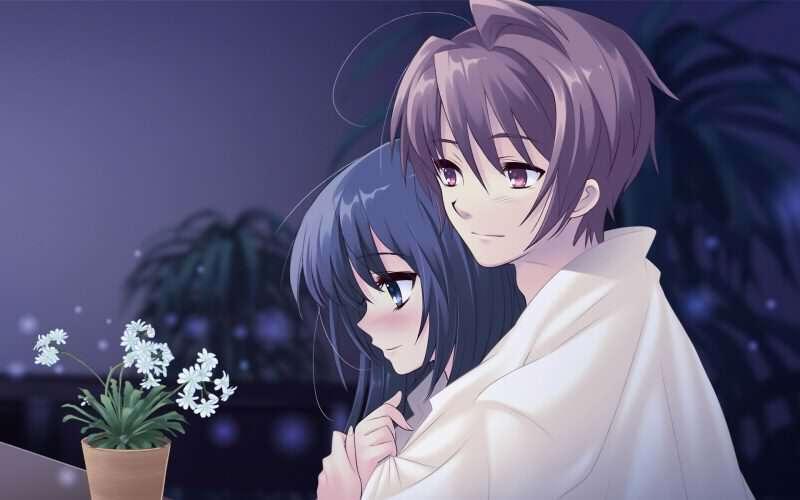 Cute-Anime-Couple-Love-Wallpaper-LoveSove