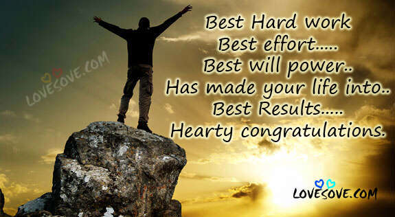 Congratulation Images For Newborn, Success, Hard Work, Married Life, Congratulations For Your Hard work