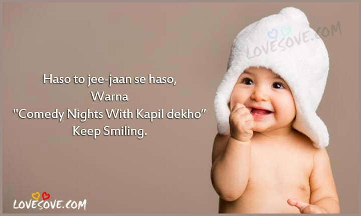 Hindi Happiness Status Smile Slogans Happy Whatsapp Thoughts