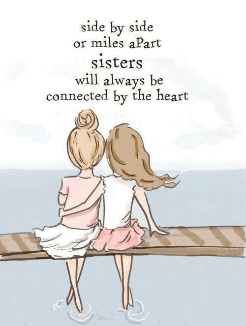 Best Sister Quotes, Cute 2 Line Status For Sister, Sister ...