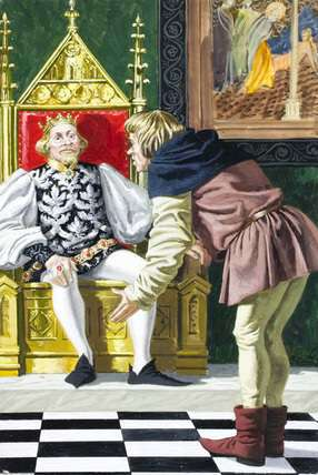 A King had a male servant - Inspirational Story