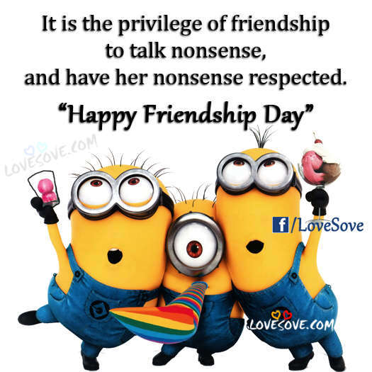 Happy Friendship Day Quotes, Shayari, Status, Images Hindi - English