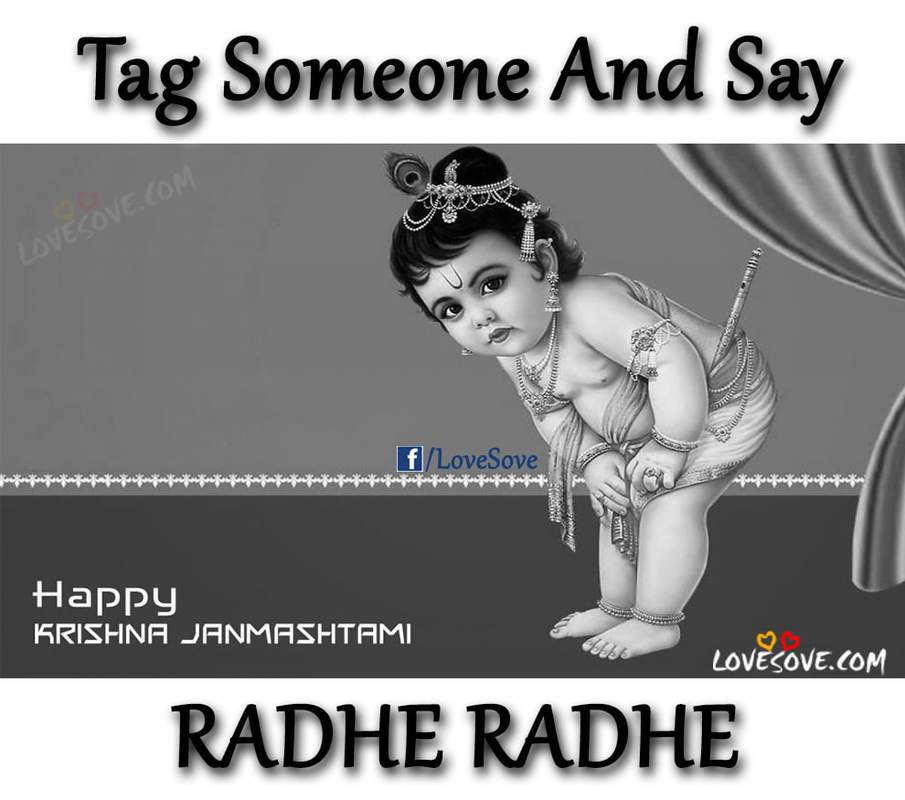 Best Happy Krishna Janmashtami Cards, Wishes, Quotes, Images