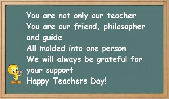 Happy Teacher's Day Quotes, Best Wishes, Status, Images