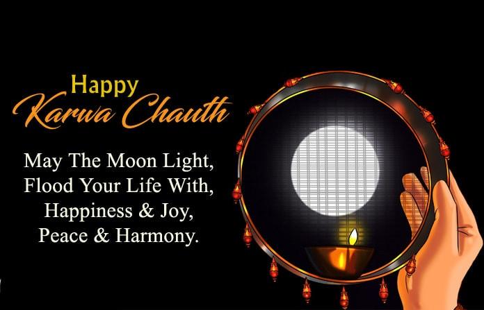 Happy Karwa Chauth Message for Husband, Happy Karwa Chauth Sms in English