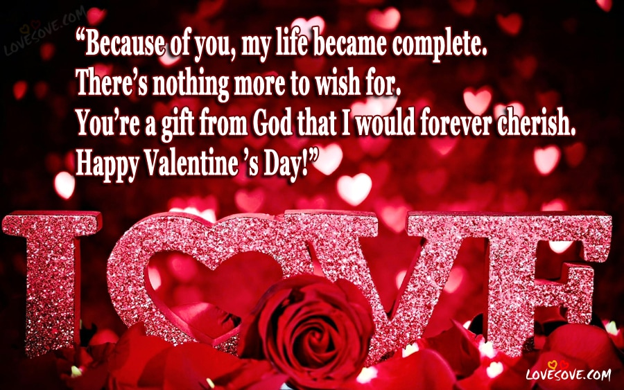 Happy Valentine Day Love Quotes Images Valentine Day Status
