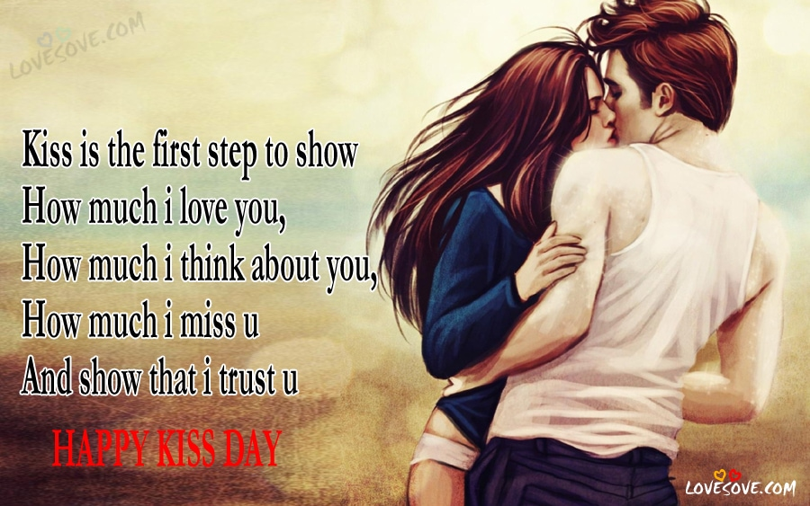 Happy Kiss Day Quotes Status Images Wallpapers 2019 Lip