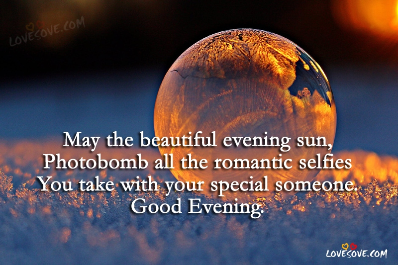 May The Beautiful Evening Sun Good Evening Quotes Images