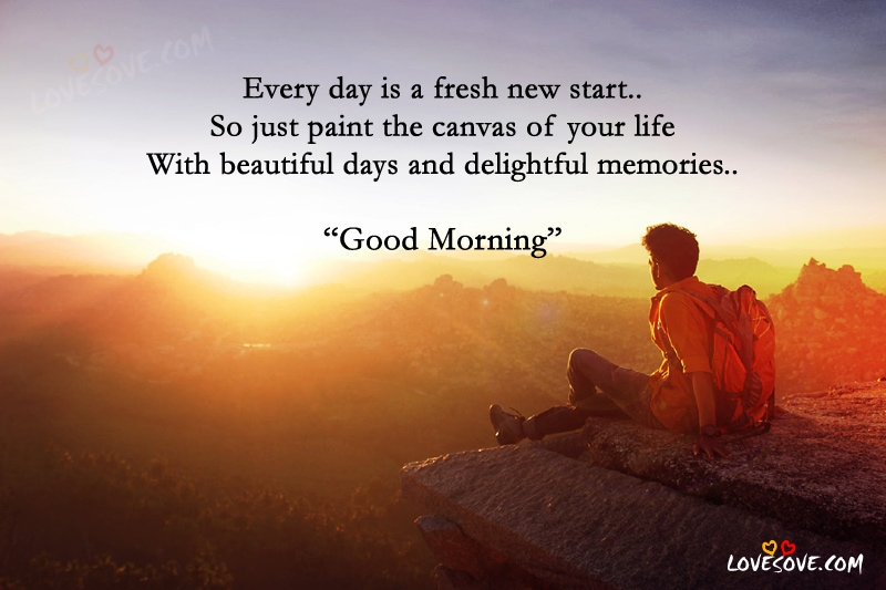 Every Day Is A Fresh Good Morning Wishes Image