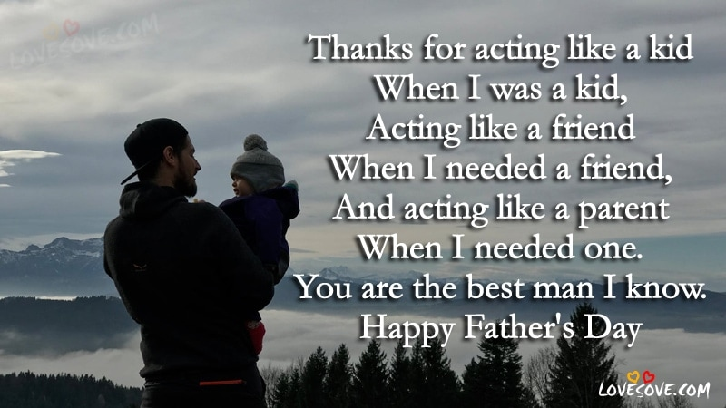fathers day inspirational quotes, Best Wishes On Happy Father's Days, Father's Days Wishes Images, Fathers day wishes images for facebook & whatsApp, Happy Fathers day, fathers-day-quote-wallpaper-lovesove