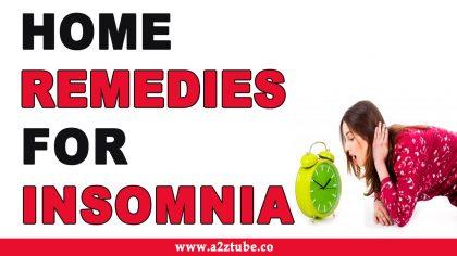 अनिदा को भगाने के घरेलू इलाज Home remedies for the removal of Insomnia