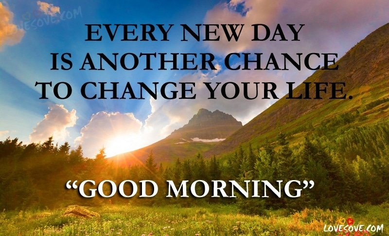 every new day is good morning quotes status images wishes