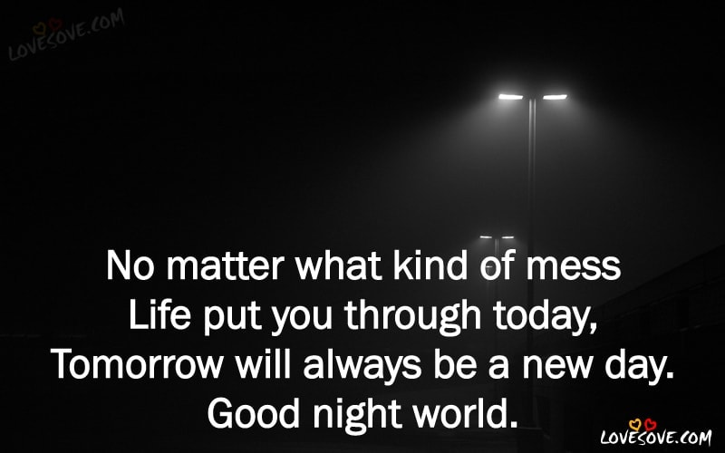 Best English Good Night Status Images Good Night Quotes