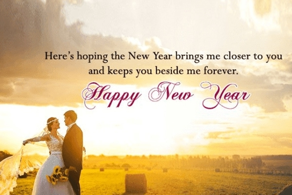 Romantic New Year Messages For Husband & Wife, Happy New Year Wishes for Husband, New Year Wishes for Husband, Happy New Year Wishes for Husband 2020 Messages Quotes, Romantic New Year Wishes for Husband 2020