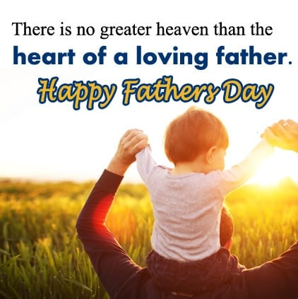 Happy fathers day images quotes in english