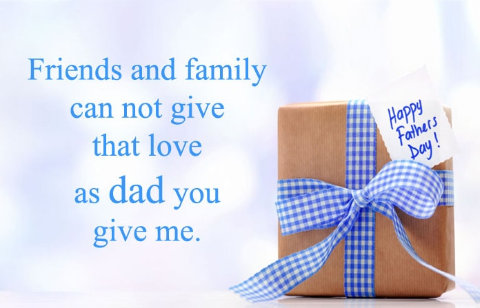 love you dad happy fathers day status