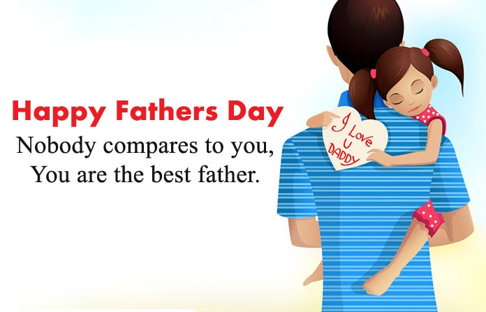 I love you daddy fathers day status
