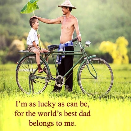 Fathers Day Status and Quotes in English, Happy Fathers Day WhatsApp Status, Fathers Day Status For FB